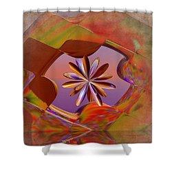 Puzzle Of Life Shower Curtain by Deborah Benoit