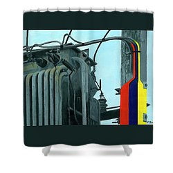 Pylon Shower Curtain