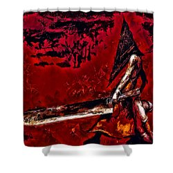 Pyramid Head Shower Curtain