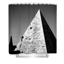 Pyramid Of Cestius Shower Curtain