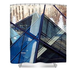 Pyramid Skylights Shower Curtain