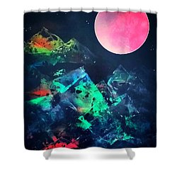 Pyramids Of The Universe  Shower Curtain