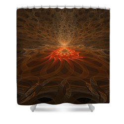 Pyre Shower Curtain