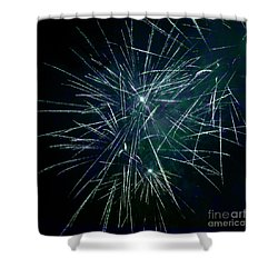 Pyrotechnic Delight Shower Curtain by John Stephens