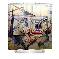 Q Shower Curtain