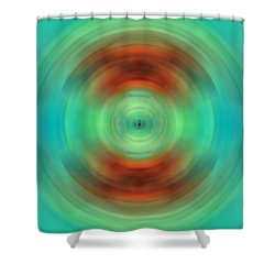 Qi - Energy Art By Sharon Cummings Shower Curtain by Sharon Cummings