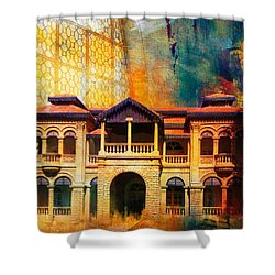 Quaid -e Azam House Flag Staff House Shower Curtain by Catf