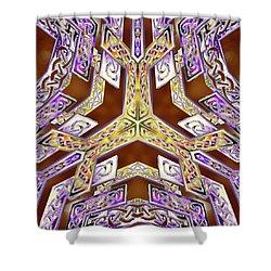 Quantum Legacy Shower Curtain