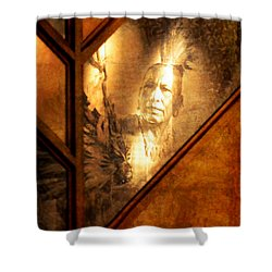 Quapaw Pride Shower Curtain by Deena Stoddard