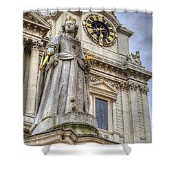 Queen Anne Statue Shower Curtain