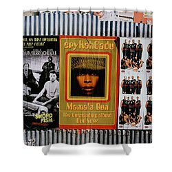 Shower Curtain featuring the photograph Queen Badu by Rebecca Harman