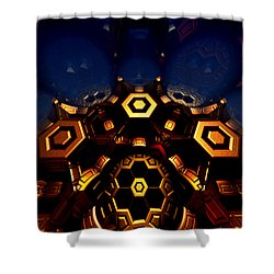 Queen's Chamber Shower Curtain