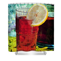 Quench My Thirst Shower Curtain by Randi Grace Nilsberg
