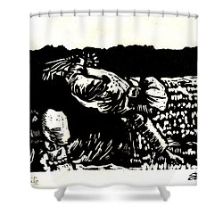 Quest For Life Shower Curtain by Seth Weaver