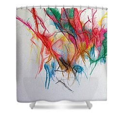 Questions Within Answers 2 Shower Curtain by David Baruch Wolk