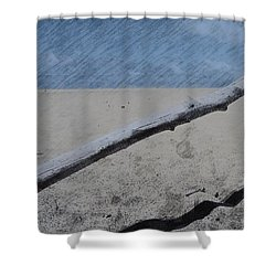 Shower Curtain featuring the photograph Quiet Beach by Photographic Arts And Design Studio