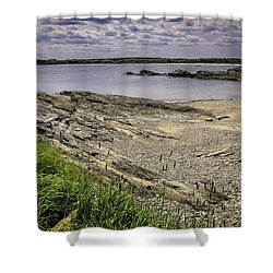 Quiet Cove Shower Curtain