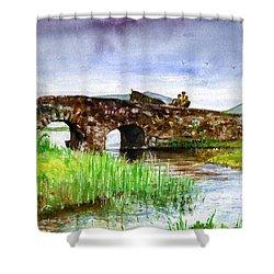 Quiet Man Bridge Ireland Shower Curtain
