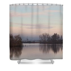 Shower Curtain featuring the photograph Quiet Morning by Annie Snel