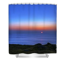 Quiet Morning.. Shower Curtain