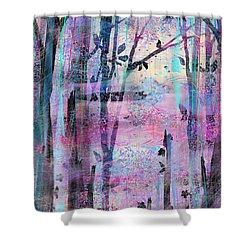 Quiet Place Shower Curtain by Rachel Christine Nowicki
