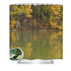 Quiet Pond Shower Curtain