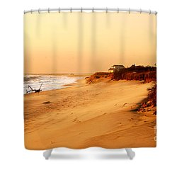 Quiet Summer Sunset Shower Curtain