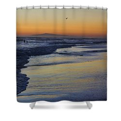 Quiet Shower Curtain by Tammy Espino