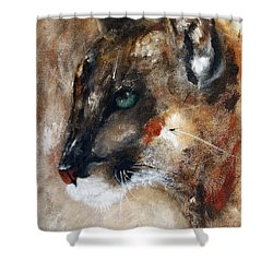 Quiet Thunder Seeker Shower Curtain