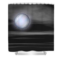Quietly Shower Curtain