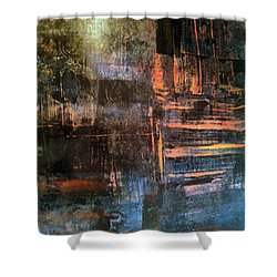 Quilters Of The Flame Shower Curtain