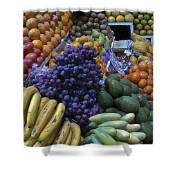 Quito Ecuador Market 1 Shower Curtain