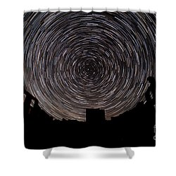 R H Y O L I T E Shower Curtain by Charles Dobbs