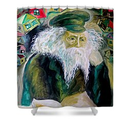 Rabbi Yosef Rosen The Rogatchover Gaon Shower Curtain