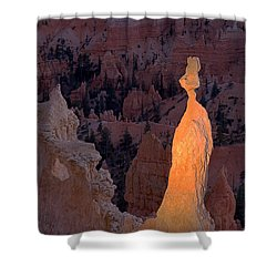 Rabbit Sunset Point Bryce Canyon National Park Shower Curtain