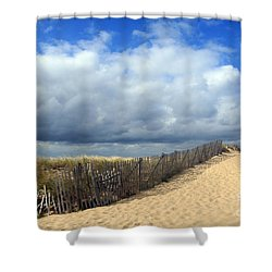 Race Point Shower Curtain