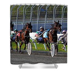 Race To The Finish Shower Curtain