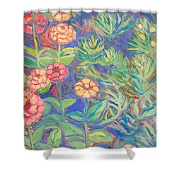 Radford Library Butterfly Garden Shower Curtain