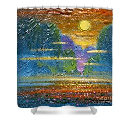 Radiance 2 Shower Curtain