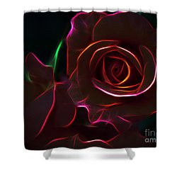 Radiant Rose  Shower Curtain