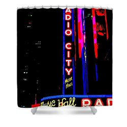 Radio City Music Hall Shower Curtain by Ed Weidman