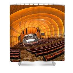 Radio City Music Hall V Shower Curtain