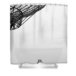 Radiotelescope Antennas.  Shower Curtain