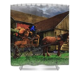 Rag Man Shower Curtain