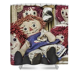 Raggedy Ann And Andy Shower Curtain