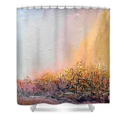Raging Forest Fire Shower Curtain