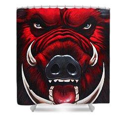 Raging Hog Shower Curtain