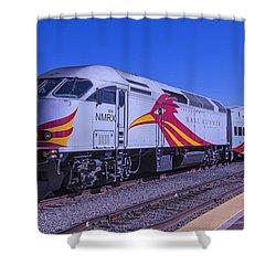 Rail Runner Santa Fe Shower Curtain