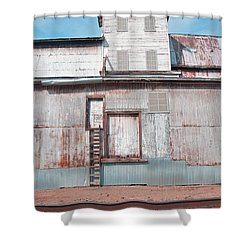Railroad To The Past Shower Curtain
