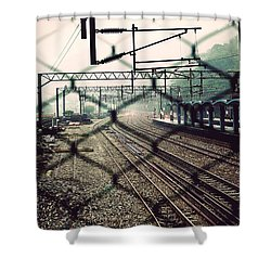 Railway Station Shower Curtain